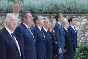 Επέτειος αποκατάστασης της Δημοκρατίας: Όλο το παρασκήνιο από το Προεδρικό [pics]
