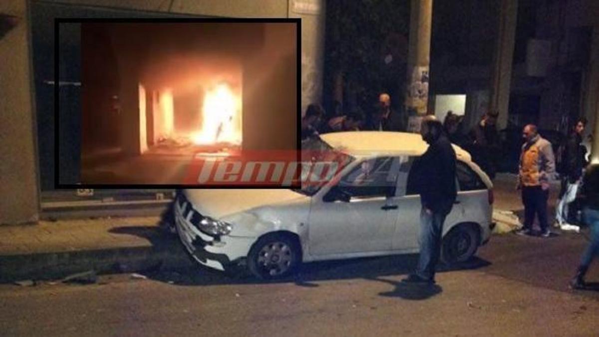 Στα ίχνη του πυρομανή της Πάτρας – Ανακρίνεται ύποπτος | Newsit.gr
