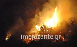 Φωτιά στη Ζάκυνθο: Ο απόλυτος πύρινος εφιάλτης! Τρεις νέες εστίες – Σε ετοιμότητα οι κάτοικοι για να εγκαταλείψουν τα σπίτια τους