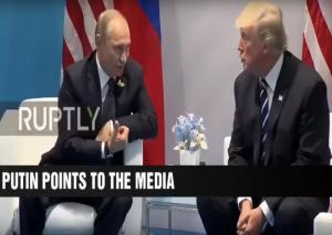 Επικός διάλογος! Πούτιν: «Αυτοί σε ενοχλούν»; Τραμπ: «Ναι αυτοί»! [vid]