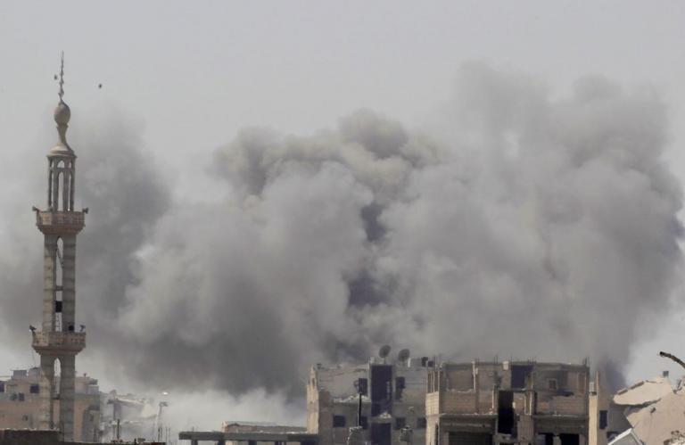 Σκληρές μάχες στην Ράκα – 35 τζιχαντιστές νεκροί | Newsit.gr