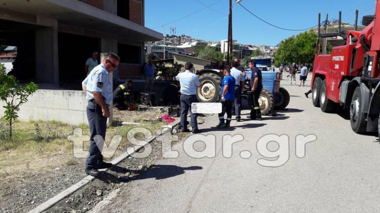 Λαμία: Τον σκότωσε το τρακτέρ του στην αυλή του σπιτιού του! [pics] | Newsit.gr