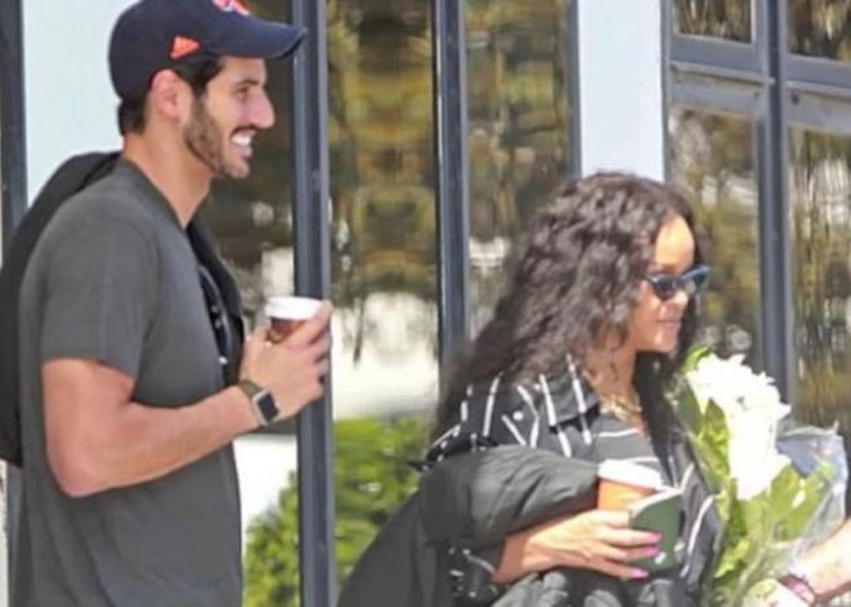 Rihanna: Έκρυψε τον εκατομμυριούχο σύντροφό της… κάτω από την ομπρέλα της! [pics] | Newsit.gr