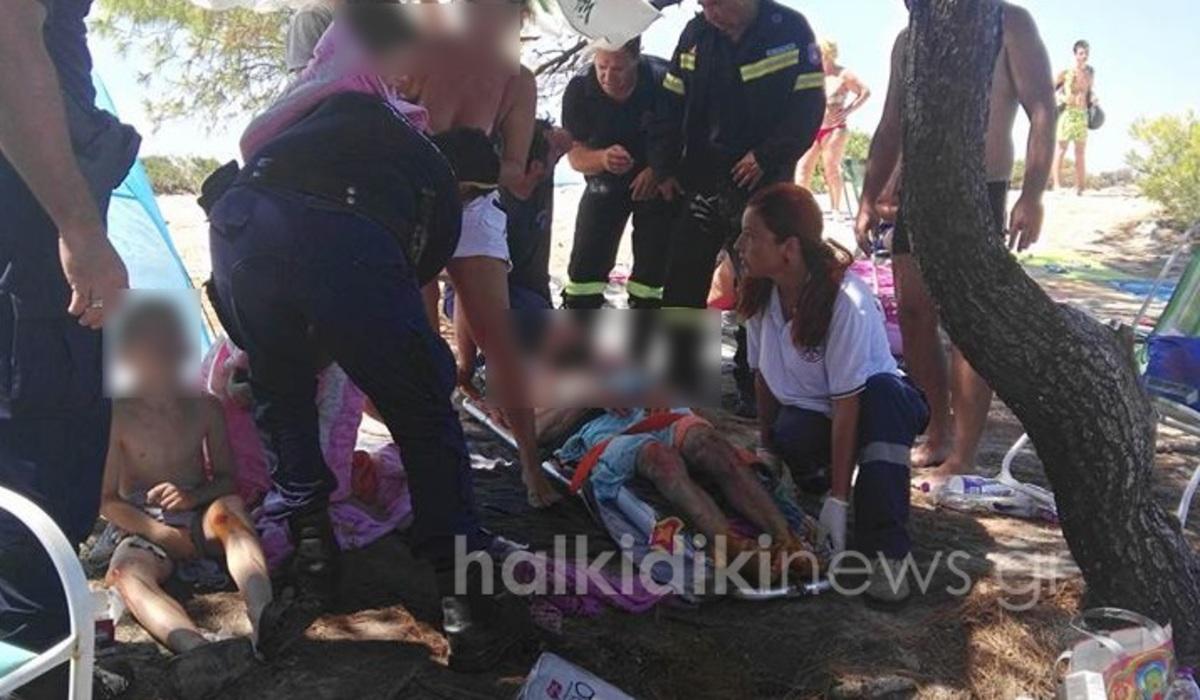 Χαλκιδική: Διακοπές… εφιάλτης! Στο νοσοκομείο 5μελής οικογένεια μετά από έκρηξη σε σκηνή   Newsit.gr