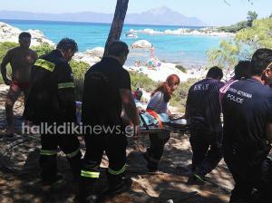Χαλκιδική: Εξερράγη γκαζάκι σε σκηνή οικογένειας! Με σοβαρά εγκαύματα πατέρας και γιος
