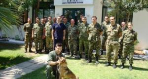 Στρατιωτικοί σκύλοι: Tι προβλήματα υγείας τους αντιμετωπίζουν το καλοκαίρι [pics]