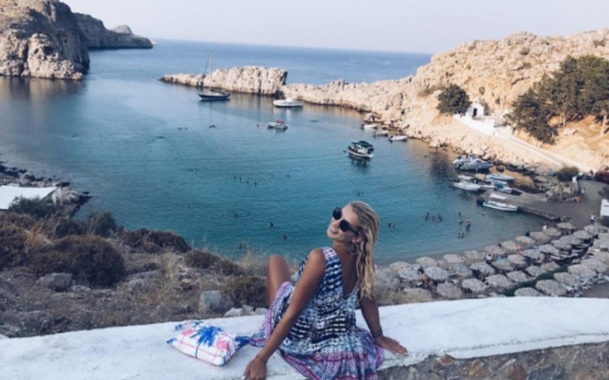 Κωνσταντίνα Σπυροπούλου: Το μήνυμα όλο νόημα από τη Ρόδο! | Newsit.gr