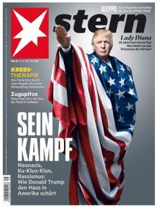 Σάλος! Ο Ντόναλντ… Χίτλερ στο εξώφυλλο του Stern
