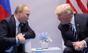 Τραμπ σε Πούτιν: Τιμή μου που σε συναντώ [pics, vids]