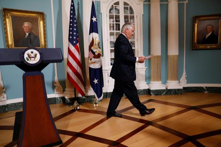 Τίλερσον «αδειάζει» Τραμπ για τη Βιρτζίνια | Newsit.gr