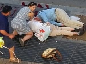 LIVE: Τρομοκρατική επίθεση στη Βαρκελώνη! Βαν παρέσυρε πεζούς