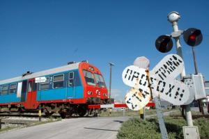 Λαμία: Κλειστή η σιδηροδρομική γραμμή λόγω του εκτροχιασμού τρένου κοντά στον Δομοκό