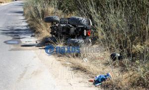 Νάξος: Ανατριχιαστικός θάνατος σε τροχαίο δυστύχημα με γουρούνα – Νεκρός ο 20χρονος οδηγός της [pics]