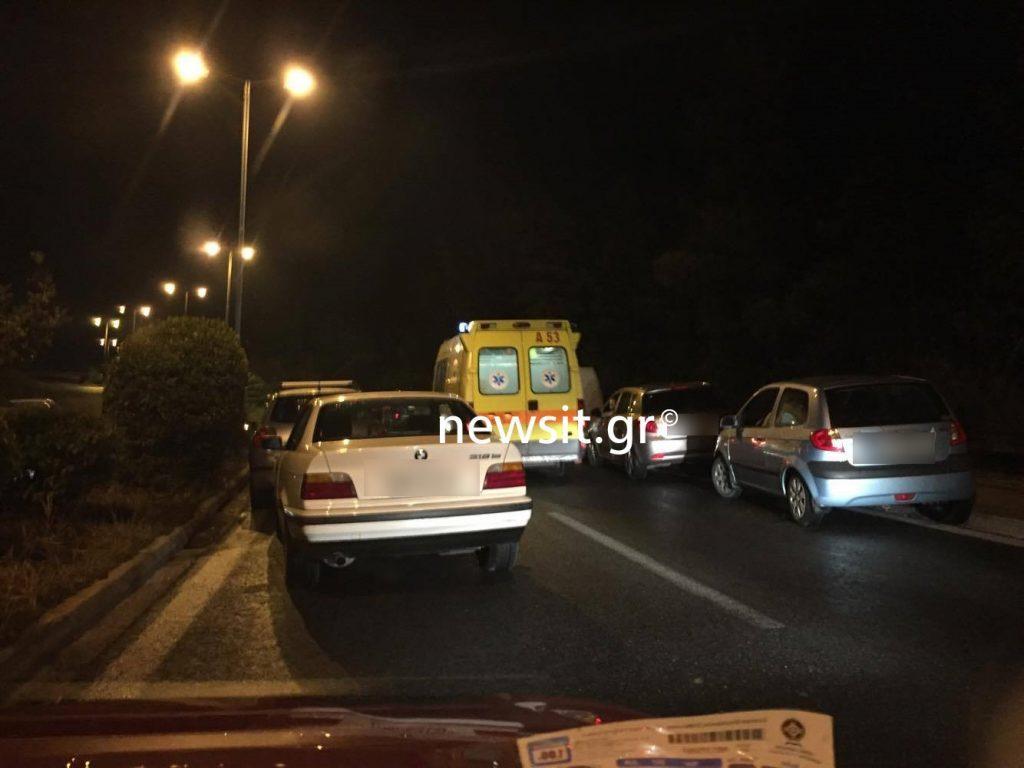 troxaio10 1024x768 - Σοβαρό τροχαίο στην Λεωφόρο Κατεχάκη! Τούμπαραν δύο αυτοκίνητα – Σε κρίσιμη κατάσταση οι οδηγοί