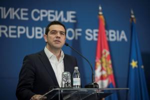 Συνάντηση Τσίπρα με τον Πρόεδρο της Σερβίας και τον Πρωθυπουργό της Βουλγαρίας