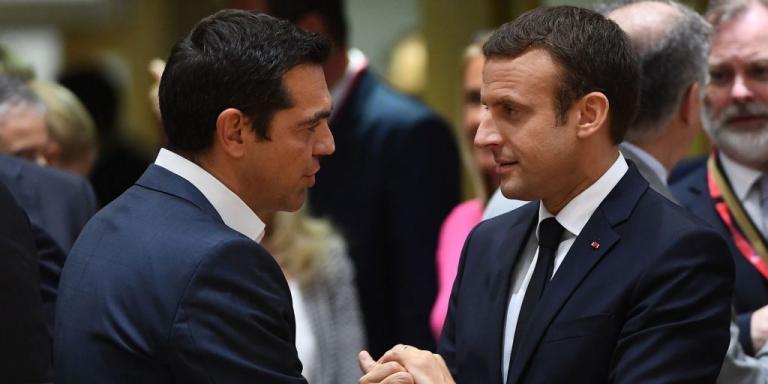 Μακρόν: Η επίσκεψη στην Ελλάδα, είναι «μήνυμα» για πιο ισχυρή Ευρώπη