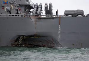 Επίλογος στην τραγωδία: Βρήκαν μέσα στο USS John S. McCain τις σορούς των αγνοούμενων