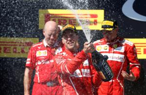 Formula 1: «Πάρτι» Φέτελ και Ferrari στην Ουγγαρία!