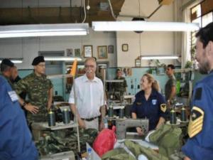 Γιατί πήγε ο Αναπληρωτής Υπουργός Εθνικής Άμυνας στο 700 ΣΕ [pics]