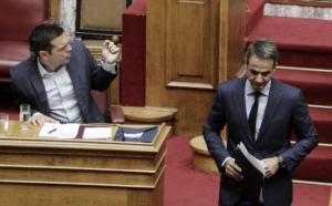 Χάος στην Βουλή! Σκοτώθηκαν Τσίπρας – Μητσοτάκης: «Δεν παίρνω πίσω τις δηλώσεις μου στο Politico» – «Είσαι ανιστόρητος»