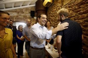 Τσίπρας σε Βρετανό: «Μαθαίνεις ελληνικά; Μπορείς να γίνεις υπουργός Οικονομικών»