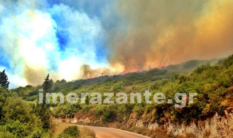 Καίγεται απ' άκρη σ' άκρη η Ζάκυνθος – Πάνω από δέκα φωτιές στο νησί | Newsit.gr
