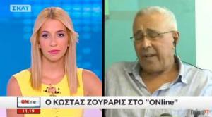 Ζουράρις: Καλά κάνουν οι νέοι και φεύγουν από την Ελλάδα