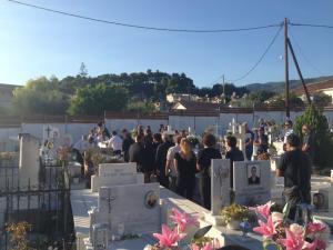 Μεσσηνία: Σπαραγμός στην κηδεία του Σπύρου Σαρδέλη – Δάκρυα για τον οικογενειάρχη με την ξεχωριστή πορεία [pics, vid]