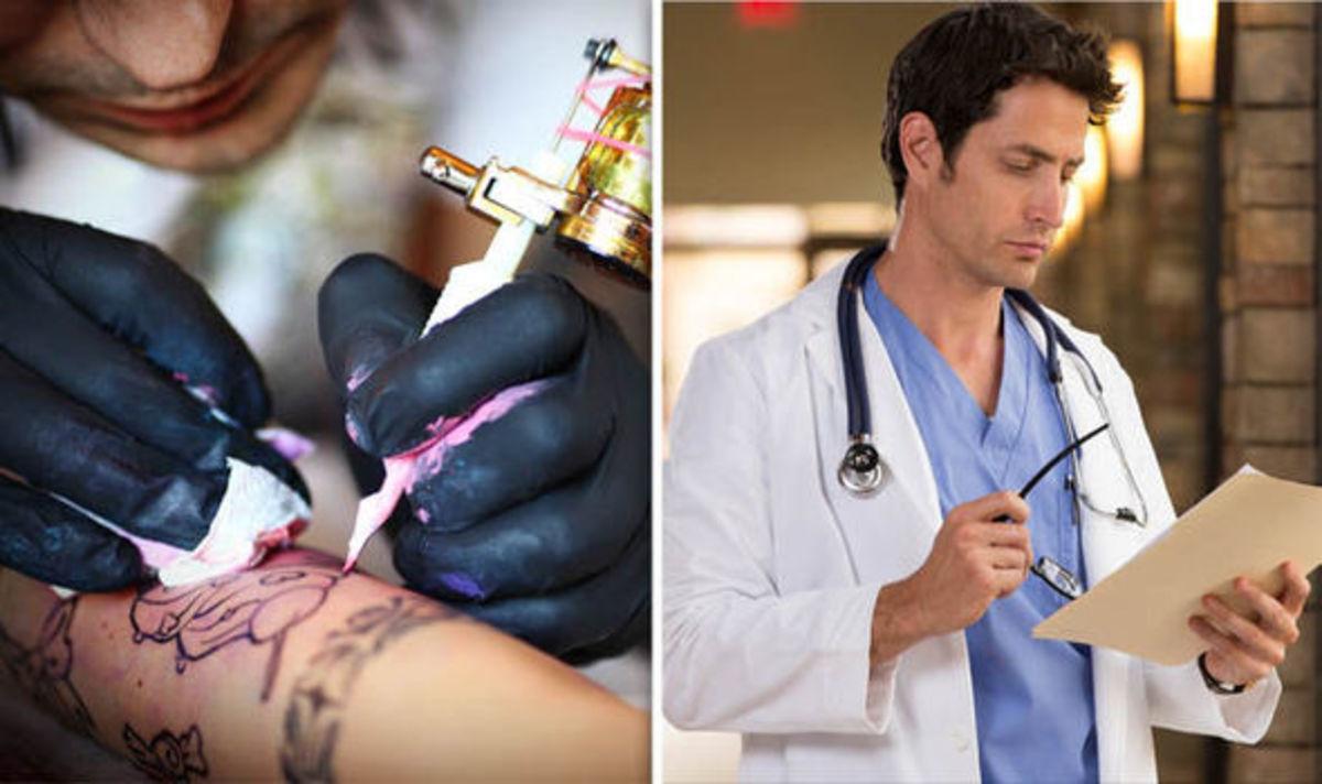 Κίνδυνος από τα τατουάζ: Σωματίδια χρωστικής φτάνουν στους λεμφαδένες! [vid] | Newsit.gr