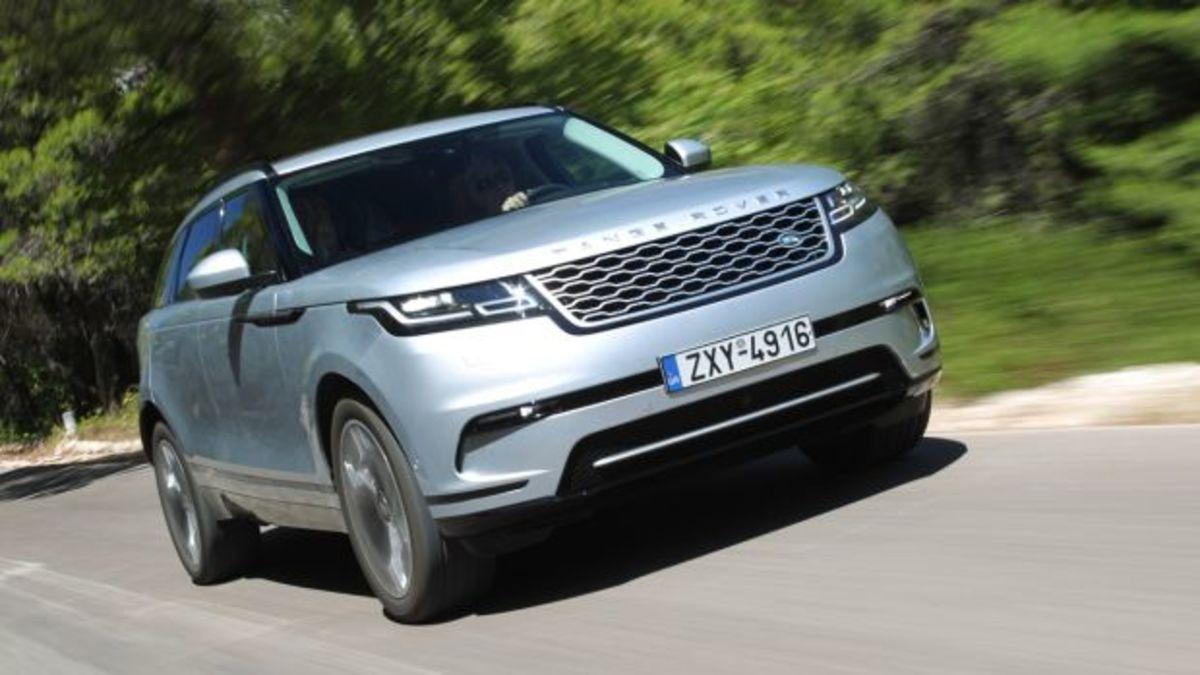 Δοκιμάζουμε το εντυπωσιακό Range Rover Velar [pics]   Newsit.gr
