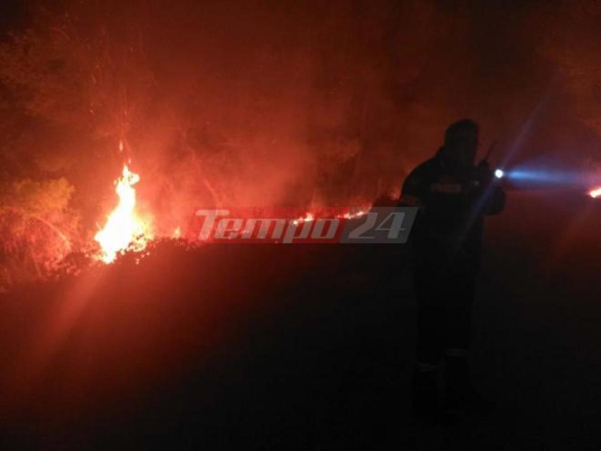 Φωτιά στην Αχαΐα: Πύρινη Κόλαση | Newsit.gr