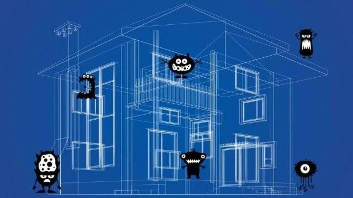 Ποια δωμάτια στο σπίτι έχουν τα περισσότερα βακτήρια | Newsit.gr