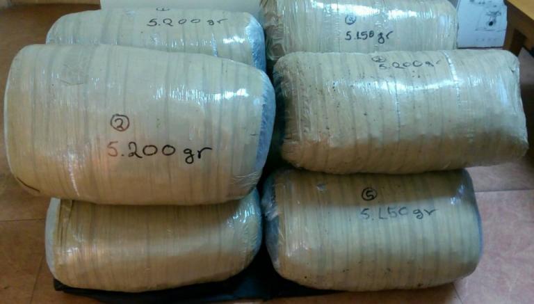 Γιάννενα: «Μπλόκο» σε 190 κιλά χασίς – Τα ευρήματα στα σύνορα και οι δύο συλλήψεις! | Newsit.gr