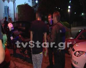 Λαμία: Άγριο ξύλο στη μέση του δρόμου – Η κλοπή κινητού τηλεφώνου έφερε το επεισόδιο [pics, vid]