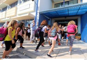 Κρήτη: Πρώτο κουδούνι για τους μαθητές – Λιγότερα τα κενά σε σχέση με πέρυσι!