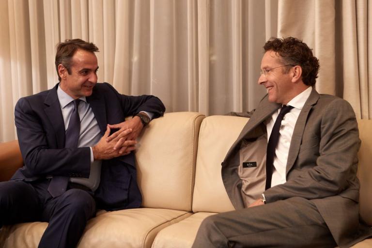 Μητσοτάκης: Παρουσίασε στον Ντάισελμπλουμ το σχέδιο της ΝΔ για την Ελλάδα μετά το μνημόνιο | Newsit.gr