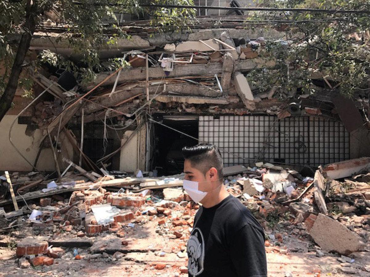 Σεισμός 7,1 ρίχτερ στο Μεξικό – Χιλιάδες κάτοικοι στους δρόμους   Newsit.gr