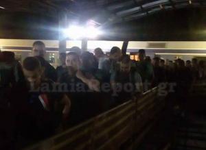 Φθιώτιδα: Οι ουρές της ταλαιπωρίας στο Λιανοκλάδι – Το ταξίδι με τρένο που δύσκολα θα ξεχάσουν [pics]
