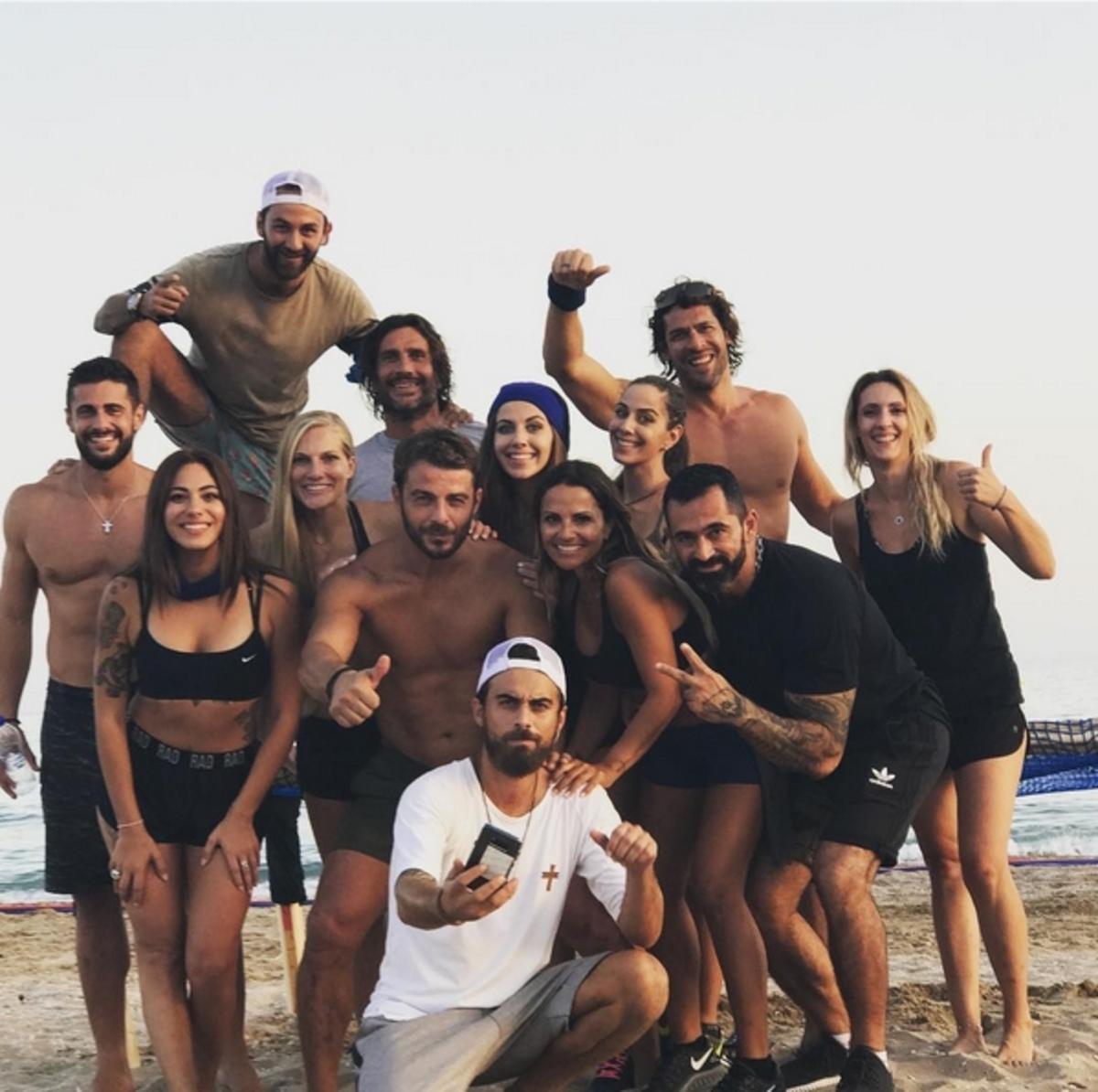 Γιώργος Αγγελόπουλος: Ξανά στην παραλία με όλους τους Survivors για καλό σκοπό! [pics,vids] | Newsit.gr