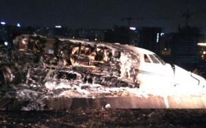 Τουρκία: Ιδιωτικό αεροσκάφος συνετρίβη στο αεροδρόμιο Ατατούρκ