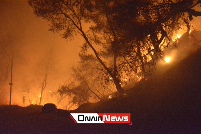 Φωτιά – Αχαΐα: Νύχτα κολάσεως – Καλύτερη εικόνα με το πρώτο φως της ημέρας | Newsit.gr