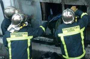 Φωτιά σε βιομηχανία ανελκυστήρων στο Κιλκίς