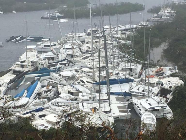 Κυκλώνας Irma: Όπως Κόλαση! Καταστράφηκε ο Άγιος Μαρτίνος – Τουλάχιστον 6 νεκροί | Newsit.gr