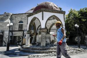 Κως: Σχεδόν 100 εκατομμύρια θα απαιτηθούν για την αποκατάσταση των ζημιών από το σεισμό