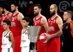 Ολυμπιακός: Στο Ηράκλειο η «ερυθρόλευκη» πρεμιέρα στην Euroleague