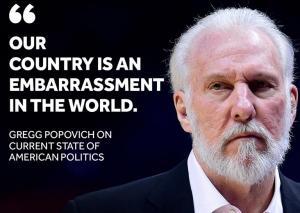 «Καταπέλτης» ο Πόποβιτς! «Γίναμε η ντροπή του κόσμου λόγω Τραμπ» [vid]