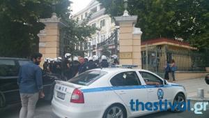 Αναρχικοί «μπούκαραν» στο Υπουργείο Μακεδονίας – Θράκης [vids]