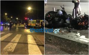 Θεσσαλονίκη: Τρεις νεκροί σε τροχαίο – Προσοχή σκληρές εικόνες [pics]