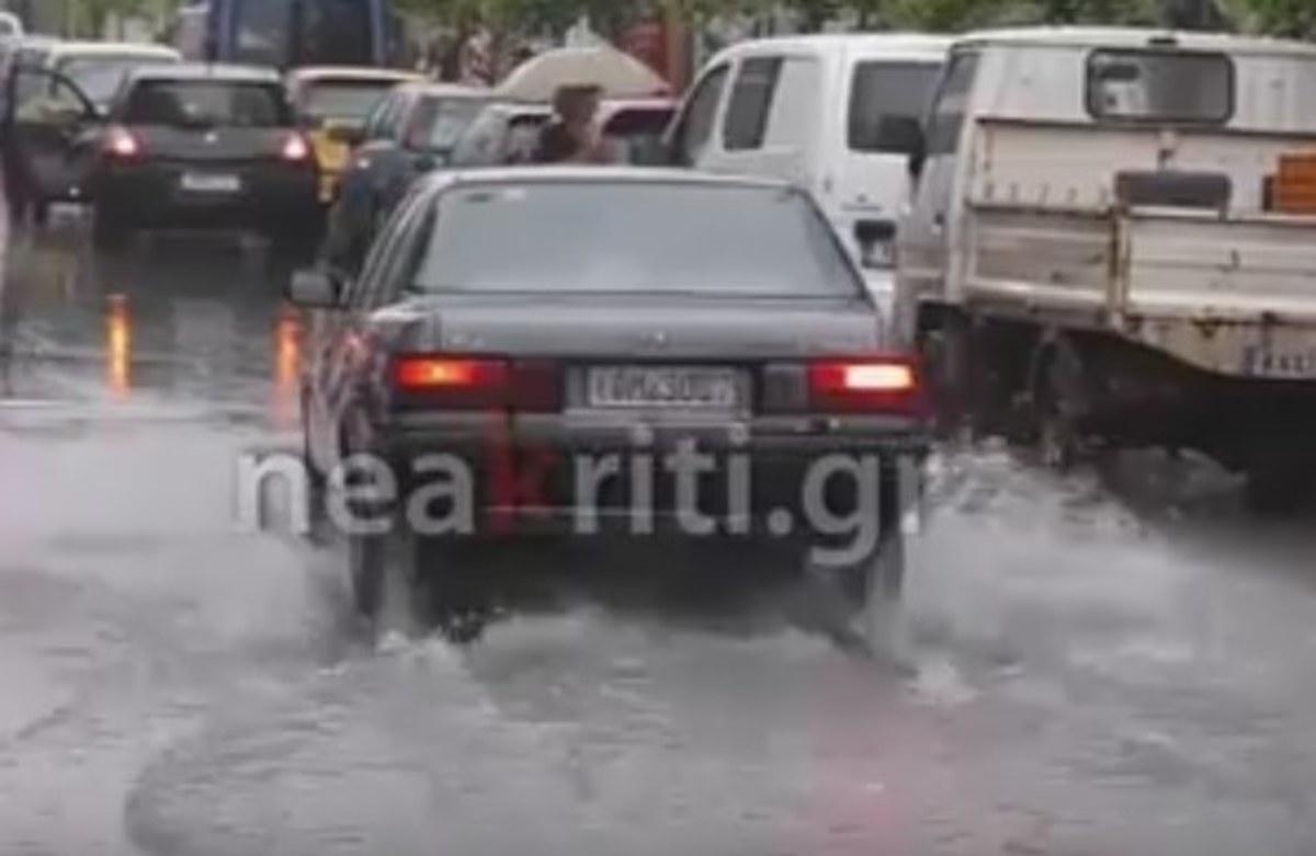 Χανιά: Βροχές και πλημμύρες – Οι εικόνες της κακοκαιρίας μετά τις καταιγίδες διαρκείας [vid] | Newsit.gr