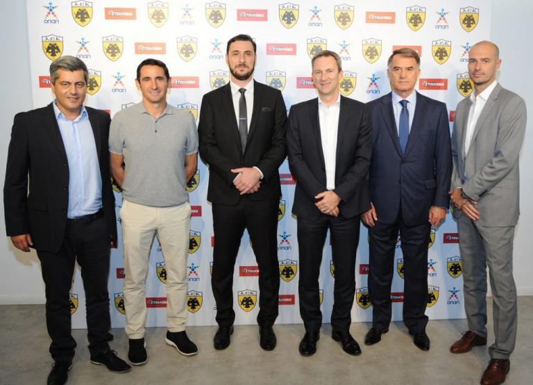 ΟΠΑΠ και ΠΑΕ ΑΕΚ συνεχίζουν μαζί και την αγωνιστική περίοδο 2017-18   Newsit.gr